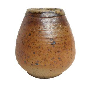Hnědá přírodní kalabasa – matná keramická