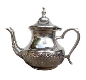 Arabská konvice na čaj – Nerezová konvička z Maroka 600 ml