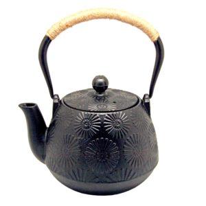 Tradiční kovová konvice na přípravu vody na čaj 1 200 ml