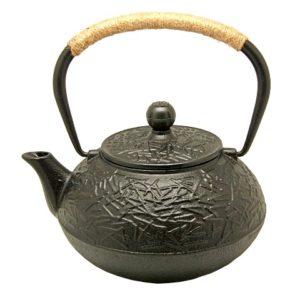 Konvice tetsubin – kovový čajník s glazurou – 900ml