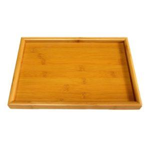 Větší bambusový tácek na čaj