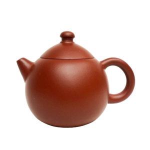 Cihlová yixingová konvička – tvar vejce – 150 ml