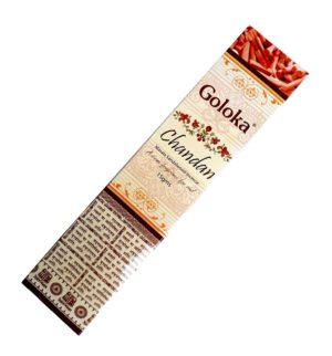 Goloka Chandan- indické vonné tyčinky s vůní magnólie