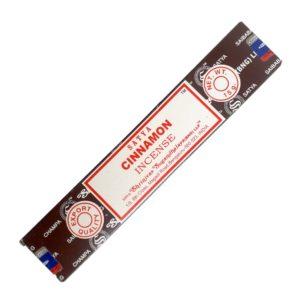 Satya Cinnamon – indické vonné tyčinky se skořicí