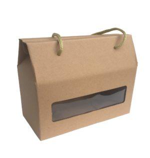 Dárková krabička s okénkem – větší