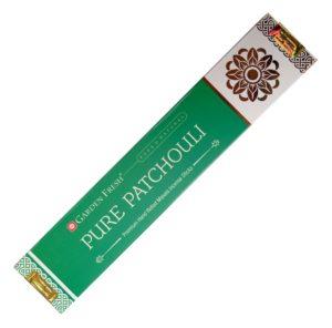 Pure Patchouli – indické vonné tyčinky Garden Fresh 15 g