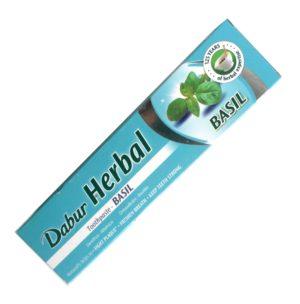 Ayurvédská zubní pasta s bazalkou – Přírodní pasta na zuby