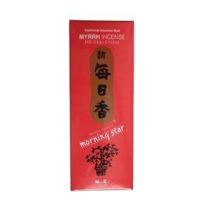 Tyčinky Nippon Myrrh M/S, Japonské tyčky s myrhou