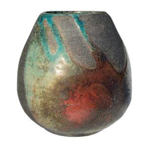 Keramická kalabasa RAKU – barevná kalabasa na maté