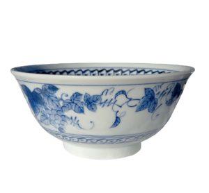 Velká porcelánová miska s vinnou révou