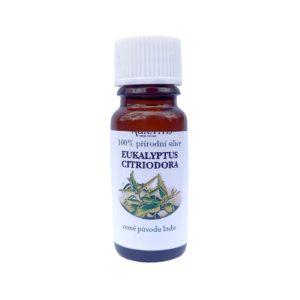 Eukalyptový olej – 100% přírodní silice eukalyptu citronového – 10 ml