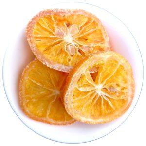 Kandované pomerančové plátky – kolečka sladkého pomeranče