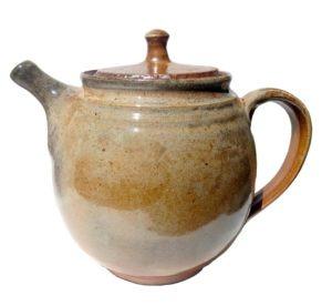 Velká lesklá konvice na čaj – keramická konvice 1,7l