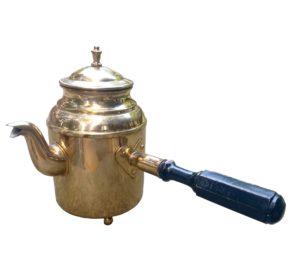 Švédská plechová konvice na čaj i kávu – Konvice 0,6L – BAZAR