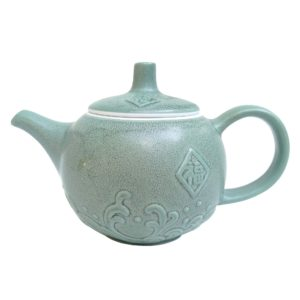 Zelená porcelánová konvička – Silnostěnný porcelán 180 ml